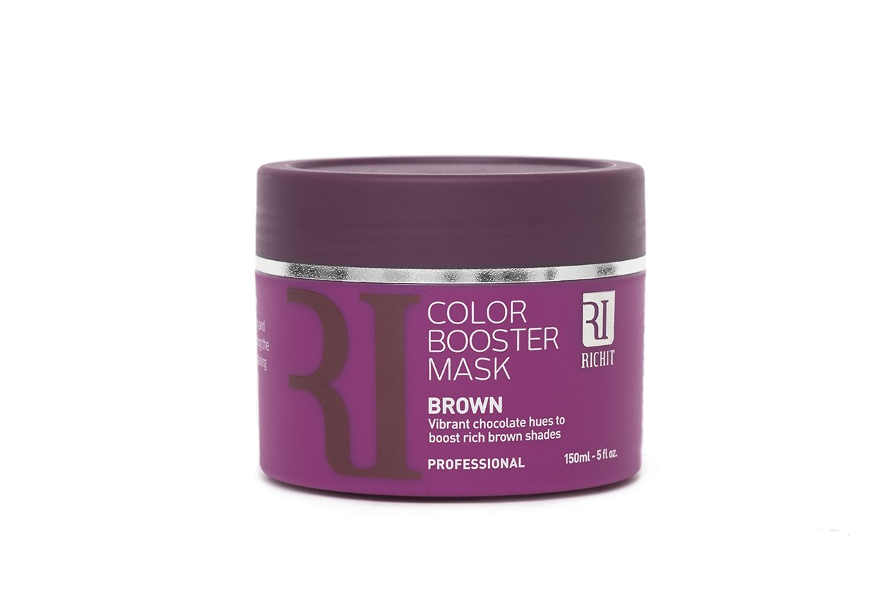 Color Booster Mask and Color Care by RICHIT for Dyed and Natural Hair to Nourish and Color to get the perfect Light Blonde, Silver Blonde, Grey, and Brown Hair (Silver Blonde) ProCombs