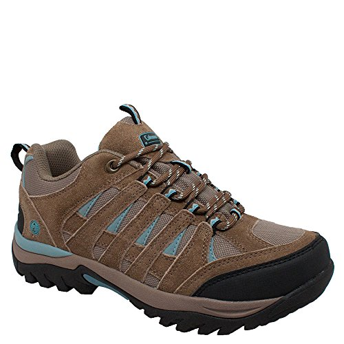 Coleman Keystone Hiker Womens Boot Light Brown / Aqua