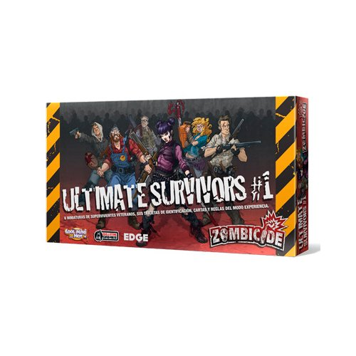 Zombicide Box of Zombies 1 Ultimate Survivors Board Game ()