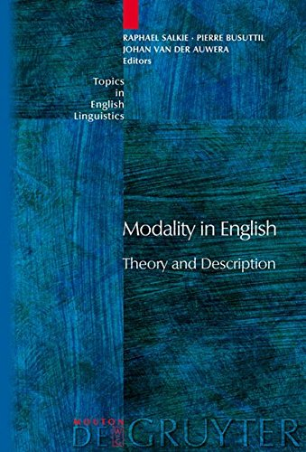 Modality in English: Theory and Description (Topics in English Linguistics)