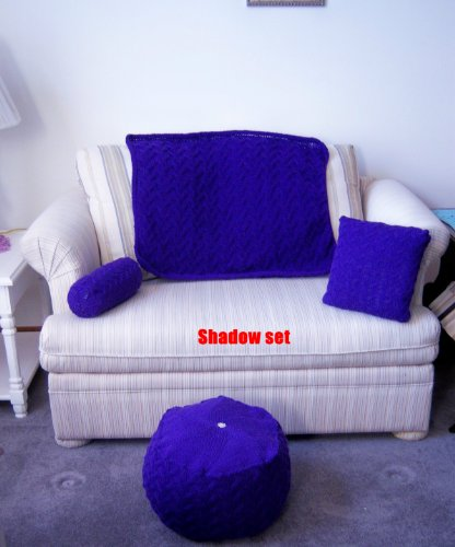 Shadow Knitting Patterns (Shadow Tuffet Set)