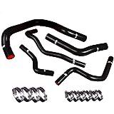 94 gsr turbo kit - Upgr8 Honda SIR Integra High Performance 4-ply Radiator and Heater Silicone Hose Kit (Black)