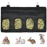 STKYGOOD Rabbit Hay Feeder Bag, Guinea Pig Hay