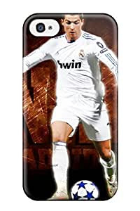 ZippyDoritEduard Scratch-free Phone Case For Iphone 4/4s- Retail Packaging - Fun Life Cristiano Ronaldo