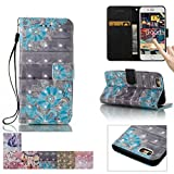 iphone 4 case new york - iPhone 6/6S Case, Firefish Kickstand Flip [Card Slots] Wallet Cover Double Layer Shell with Magnetic Closure Strap Protective Case for Apple iPhone 6/6S 4.7