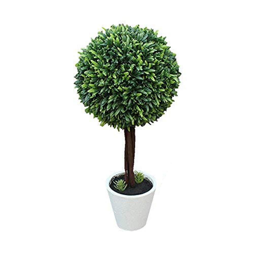 Potted Artificial Plants Plastic Fake Tree Plants Bushes Artificial Shrubs Plants Artificial Potted Plants Outdoors Home Decor