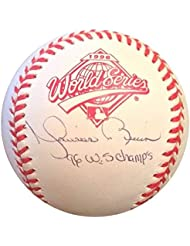 Autographs-original Thomas Diamond Auto Signed Autograph Rawlings Mlb Baseball Outstanding Features
