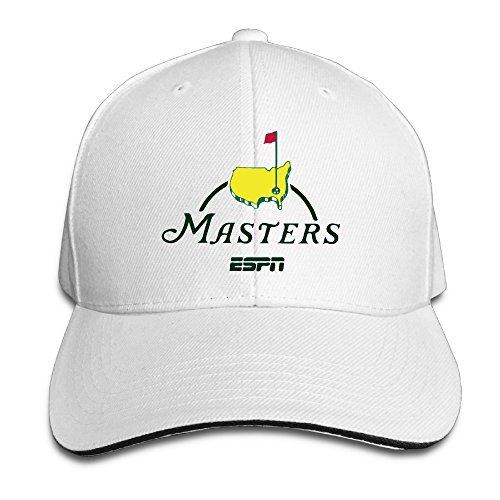 Sandwich Visor Pro Style Caps (Masters Golf Logo Sandwich Visor Low Profile Pro Style Caps White)