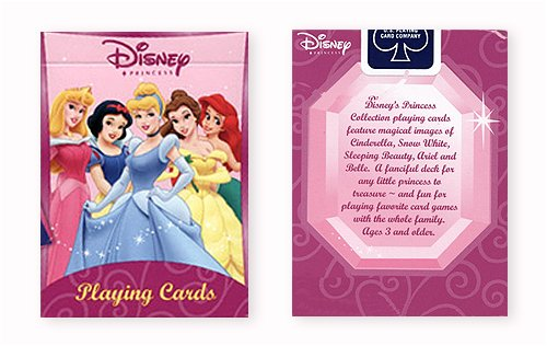 Disney Princess Playing Cards