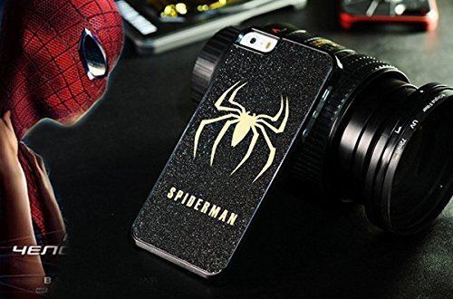 The Amazing Spider Man All Costumes Pc (Fashionable Batman/superman/ironman/spiderman/captain America Superhero Series Hard Pc Matting Cellphone/ Cell Phone Cover Case for Apple Iphone 5/5s/6/6s)