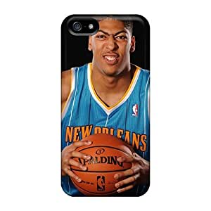 Slim Fit Tpu Protector Shock Absorbent Bumper Nba Basketball New Orleans Hornets Rookies Anthony Davis Case For Iphone 5/5s