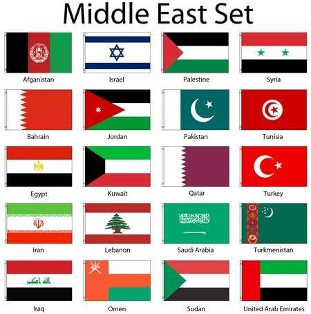 Oman flag 2X3ft poly