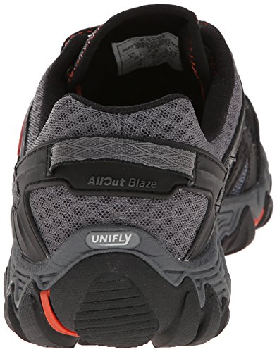 Merrell Men's All Out Blaze Aero Sport Hiking Water Shoe, Black/Red, 7.5 M US by Merrell (Image #2)
