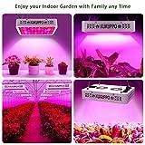 LED Grow Light, KUKUPPO 600W Full Spectrum Double
