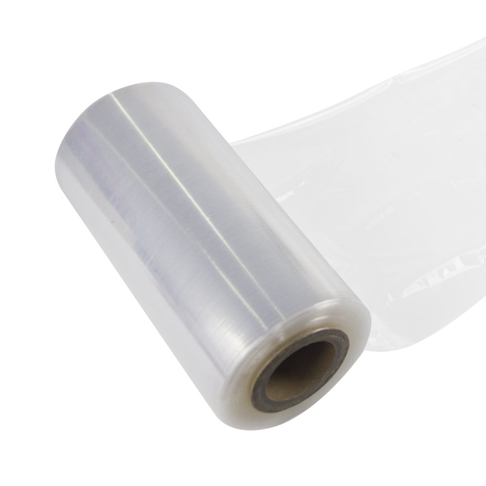 Jack&Sunny Stretch Wrap 9''x 1000 Ft 80 Gauge Moving Shipping Packing Depot&Storage Industrial Hand Stretch wrap Film Clear (clear1, 1-roll)