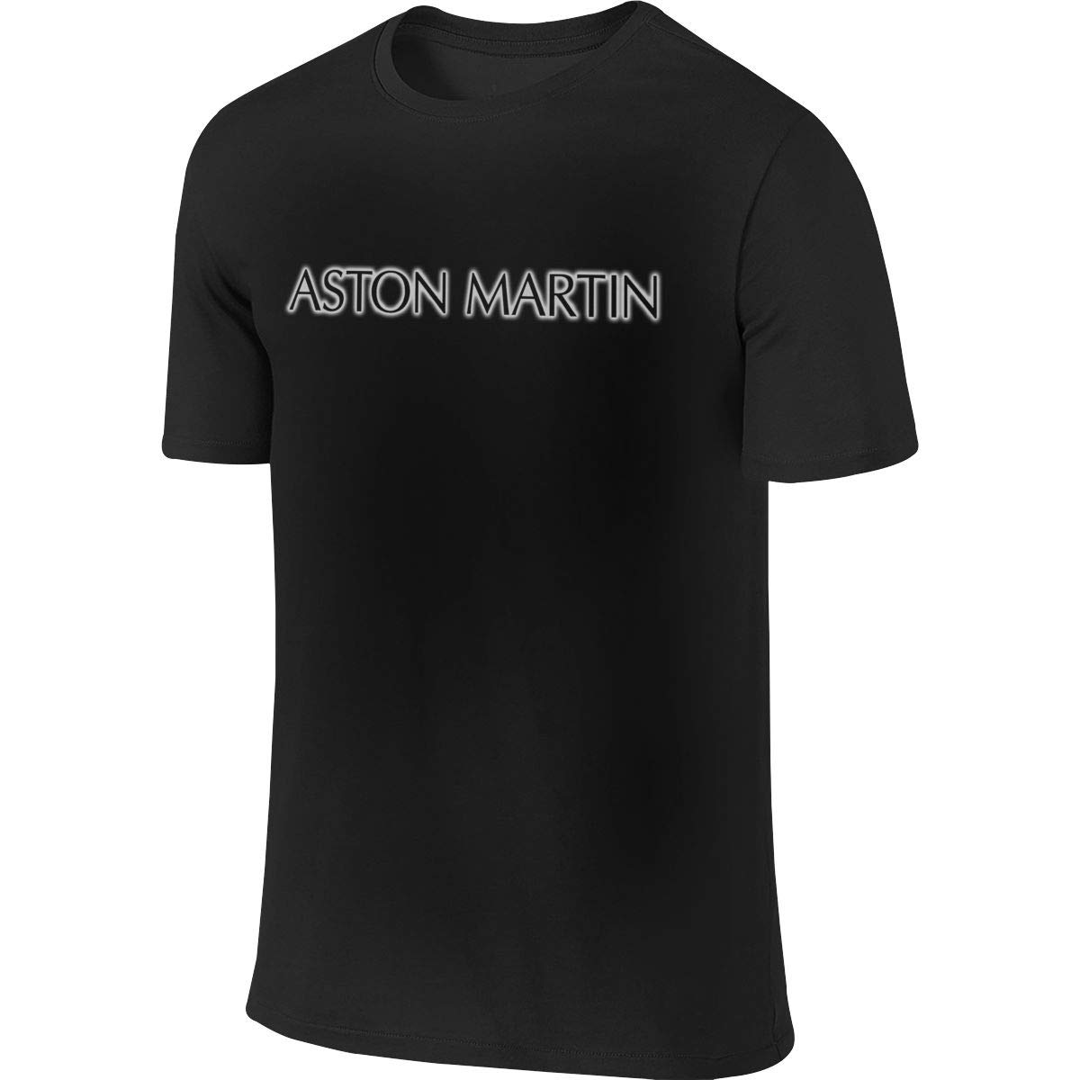 SHENGN Man Customized Cool Tee Aston Martin Logo Tshirt