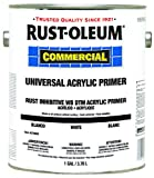 Rust-Oleum Commerical 278808 Universal Acrylic Primer- Satin White, 1-Gallon