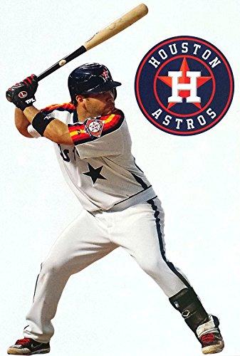 FATHEAD Jose Altuve Mini Houston Astros Logo Official MLB Vinyl Wall Graphics 7