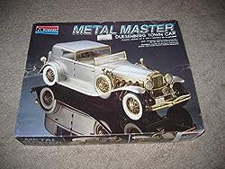 Monogram Metal Master Cadillac v-16 1:24 Scale Plastic Model Kit (1989) Vintage-New in Box! by Monogram