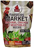 Plato Farmers Market Chicken and Vegetables Dog Treat 14.1-Ounce