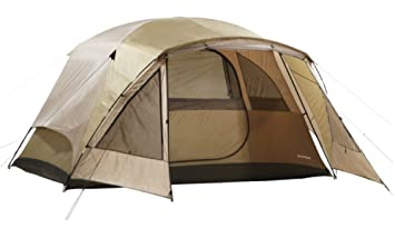 6 Person Tent Wilderness Lodge With Vestibule For Element Protection  sc 1 st  Amazon.com & Amazon.com : 6 Person Tent Wilderness Lodge With Vestibule For ...