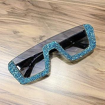Amazon.com: SABRKLC - Gafas de sol cuadradas para mujer ...