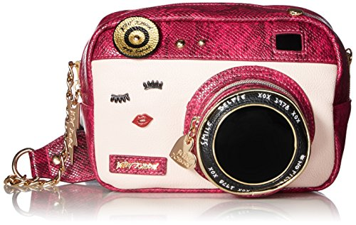 Price comparison product image Betsey Johnson Close up Crossbody, Fuchsia