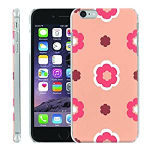 [ManiaGear] [SLIGHT] Thin Clip On Image Shell Cover Hard Case (Babypink Flower) for Iphone 6 (4.7)