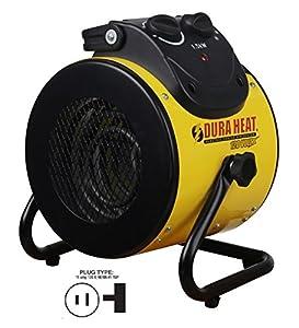 Dura Heat EUH1500 Forced Air Heater, 5120 BTU