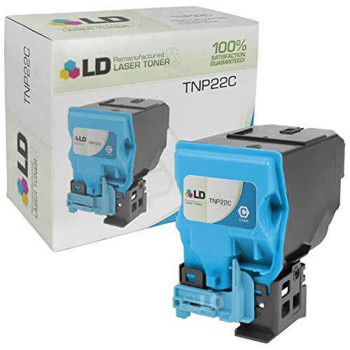 (LD Remanufactured Toner Cartridge Replacement for Konica Minolta TNP22C A0X5432 (Cyan))