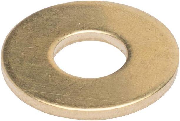 "3/8"" X 1"" Od Brass Flat Washer, (25 Pack) - Choose Size, durch Bolt Dropper"
