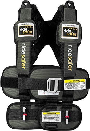 Safe Traffic System Ride Safer Travel Vest Gen 5, Large, Gray