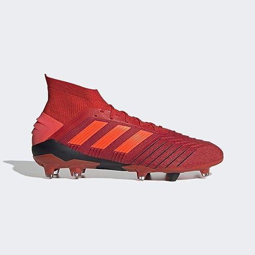 adidas Predator 19.1 Fg, Scarpe da Calcio Uomo, Multicolore (RojactRojsolNegbás 000), 44 23 EU