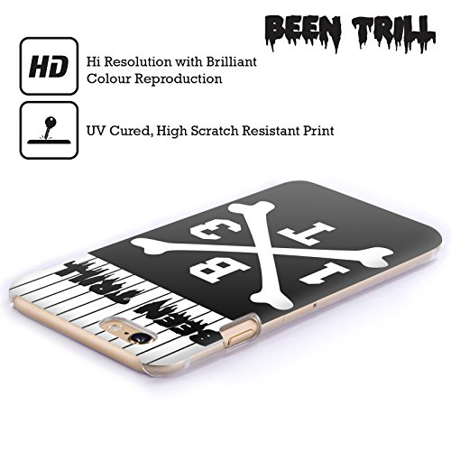 Official Been Trill Crossbone Jersey Hard Back Case for Apple iPhone 6 / 6s