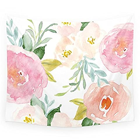 Society6 Floral 02 Wall Tapestry Small: 51