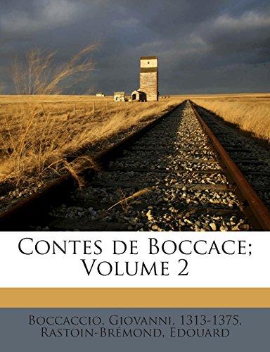 Contes de Boccace; Volume 2