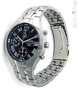 Seiko Men's Alarm Chronograph Watch SND481