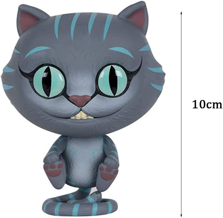 GYMJN POP Movie Mad Hatter//Tarrant Hightopp 181#//Cheshire Cat 183# Car Decoration Color : A Alice in Wonderland