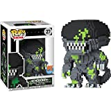 Funko Xenomorph (PX Exclusive): Alien x POP! 8-bit Horror Vinyl Figure & 1 PET Plastic Graphical Protector Bundle [#027 / 24673 - B]