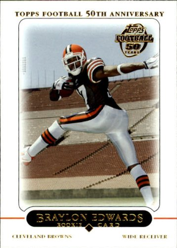 Rookie Card #415 Braylon Edwards Near Mint/Mint ()