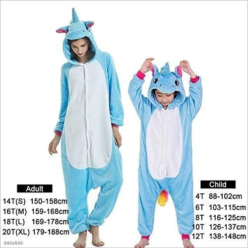 Pijama Unicornio Adulto Niños Pijamas Pijamas de Unicornio Niño ...