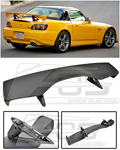 Extreme Online Store EOS CR Style ABS Plastic Primered Black 7 Pcs Rear Trunk Lid Wing Spoiler for 2000-2009 Honda S2000 AP1 AP2