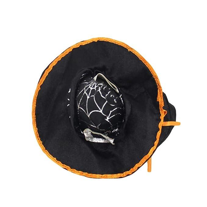 CAOQAO - Sombrero de Gato para Perro, Gorro de Halloween ...