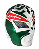 CRAZY BOY Adult Lucha Libre Wrestling Mask (pro-fit) Costume Wear - Green
