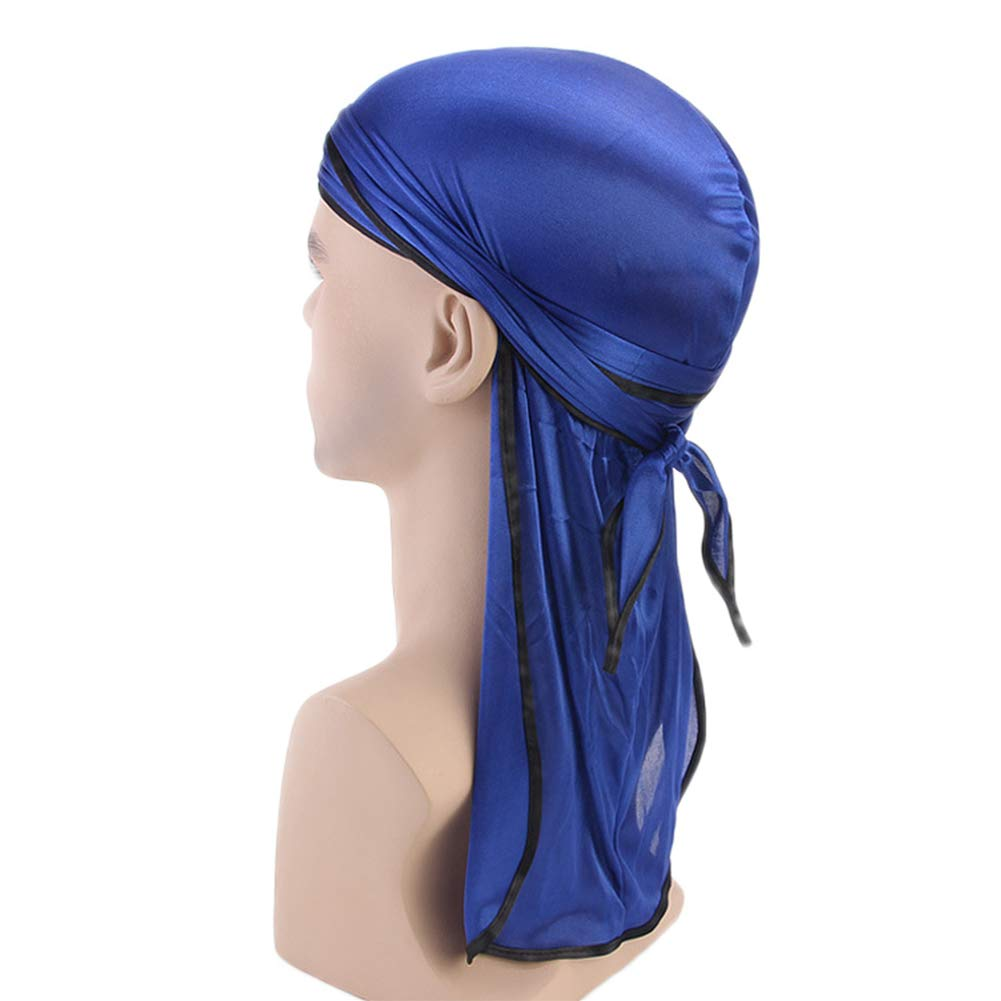 Culer Unisexe Longue Queue et Bretelles Larges Headwraps Pirate Cap Headwraps Lisse Hommes Femmes