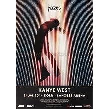 Kanye West - Yeezus KÖL 2014 - Poster, Concertposter, Concert