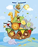 Medium Noah's Ark Baby Shower Gift Bag