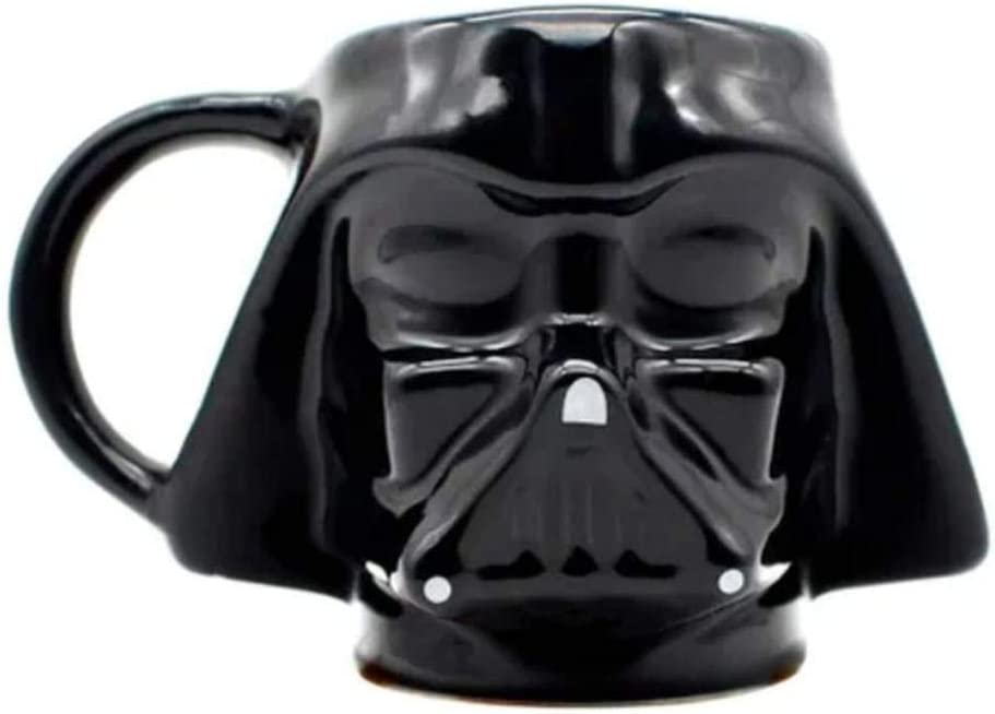 Caneca Star Wars 3D Darth Vader Zona Criativa Disney Oficial