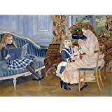 'Auguste Renoir L'apres midi des enfants a Wargemont ' oil painting, 20 x 27 inch / 51 x 70 cm ,printed on polyster Canvas ,this Amazing Art Decorative Prints on Canvas is perfectly suitalbe for Gym gallery art and Home decor and Gifts