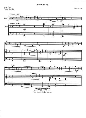 Fugue in Baroque Style for Saxophone Trio by Harry R. Gee